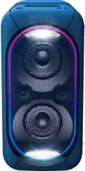 sony gtk xb60l extra bass high power audio system with built in battery blue photo