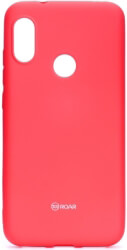 roar colorful jelly back cover case for xiaomi mi a2 lite hot pink photo