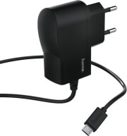 hama 173670 micro usb charger 1a black photo