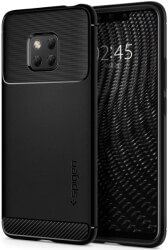 spigen rugged armor back cover case for huawei mate 20 pro black photo