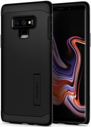 spigen slim armor back cover case for samsung galaxy note 9 black photo