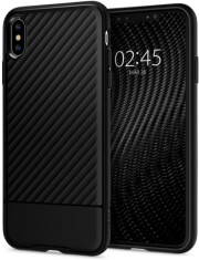 spigen core armor back cover case for apple iphone xs max black photo