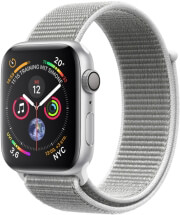 apple watch 4 mu652 40mm silver aluminum case with seahell sport loop photo