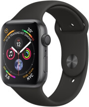 apple watch 4 mu662 40mm space grey aluminum case with black sport band photo