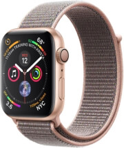 apple watch 4 mu6g2 44mm gold aluminum case with pink sand sport loop photo