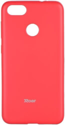 roar colorful jelly back cover case for huawei p9 lite mini hot pink photo