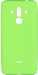 roar colorful jelly back cover case for huawei mate 10 pro lime photo