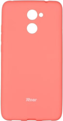 roar colorful jelly back cover case for huawei y7 peach pink photo