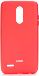 roar colorful jelly back cover case for lg k11 k10 2018 hot pink photo