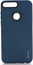 roar rico armor back cover case for huawei y6 prime 2018 navy photo