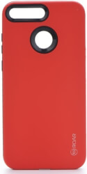 roar rico armor back cover case for huawei y6 prime 2018 red photo