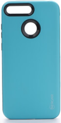roar rico armor back cover case for huawei y6 prime 2018 light blue photo