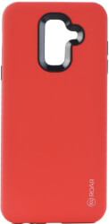 roar rico armor back cover case for samsung galaxy a6 plus 2018 red photo