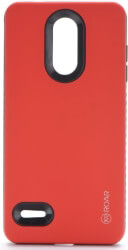 roar rico armor back cover case for lg k9 k8 2018 red photo