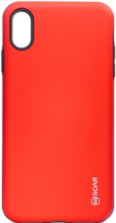 roar rico armor back cover case for apple iphone xs max red photo