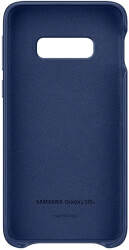 samsung galaxy s10e leather cover ef vg970ln navy photo