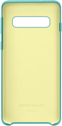 samsung galaxy s10 silicone cover ef pg973tg green photo