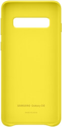 samsung galaxy s10 leather cover ef vg973ly yellow photo