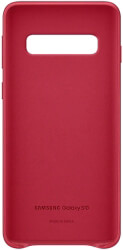 samsung galaxy s10 leather cover ef vg973lr red photo