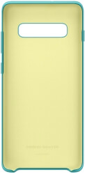 samsung galaxy s10 plus silicone cover ef pg975tg green photo
