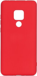 forcell soft back cover case for huawei mate 20 red photo