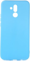 forcell soft back cover case for huawei mate 20 lite blue photo