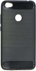 forcell carbon back cover case for xiaomi redmi 5 plus black photo