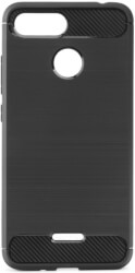 forcell carbon back cover case for xiaomi redmi 6 black photo