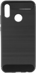 forcell carbon back cover case for huawei psmart 2019 black photo