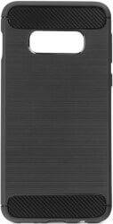 forcell carbon back cover case for samsung galaxy s10 lite black photo