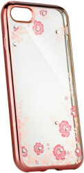 forcell diamond back cover case for apple iphone xs 58 rose gold photo