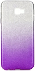 forcell shining back cover case for samsung galaxy j4 j4 plus clear violet photo