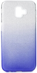 forcell shining back cover case for samsung galaxy j6 j6 plus clear blue photo
