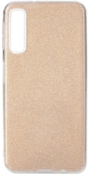 forcell shining back cover case for samsung galaxy a7 2018 a750 gold photo