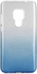 forcell shining back cover case for huawei mate 20 clear blue photo