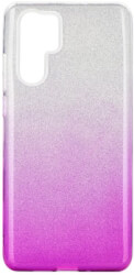 forcell shining back cover case for huawei p30 pro clear pink photo