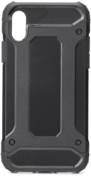 forcell armor back cover case for apple iphone xs 58 black photo