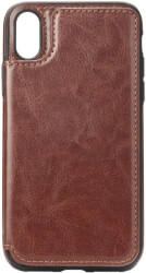 forcell wallet flip case for samsung galaxy s9 plus brown photo
