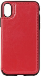 forcell wallet flip case for samsung a7 2018 red photo