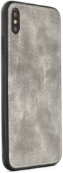 forcell denim back cover case for apple iphone 7 8 grey photo