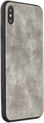 forcell denim back cover case for apple iphone 6 plus 6s plus grey photo