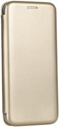 forcell book elegance flip case for samsung j4 j4 plus gold photo