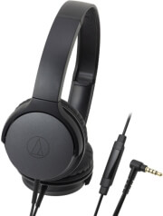 audio technica ath ar1is over ear headphones for smartphones black photo