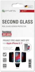4smarts second glass privacy pro 4way anti spy for apple iphone 8 7 photo