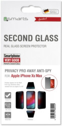 4SMARTS SECOND GLASS PRIVACY PRO 4WAY ANTI-SPY FOR APPLE IPHONE XS MAX