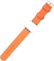 4smarts fabric wrist band for apple watch series 4 44mm 3 2 1 42mm orange photo