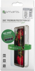 4smarts 360 premium protection set easy assist for apple iphone xs max black photo