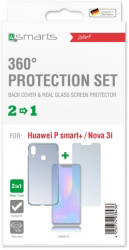 4smarts 360 protection set for huawei psmart nova 3i clear photo