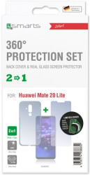 4smarts 360 protection set limited cover for huawei mate 20 lite clear photo
