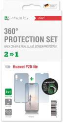 4smarts 360 protection set limited cover for huawei p20 lite clear photo